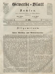 Gewerbe-Blatt für Sachsen. Jahrg. VI, 9. April, nr 27.