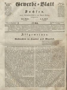 Gewerbe-Blatt für Sachsen. Jahrg. VI, 4. Mai, nr 34.