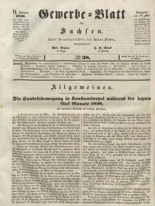 Gewerbe-Blatt für Sachsen. Jahrg. VI, 18. Mai, nr 38.