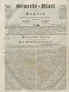 Gewerbe-Blatt für Sachsen. Jahrg. VI, 25. Mai, nr 40.