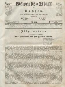 Gewerbe-Blatt für Sachsen. Jahrg. VI, 11. Juni, nr 45.