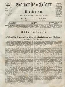 Gewerbe-Blatt für Sachsen. Jahrg. VI, 18. Juni, nr 47.