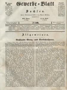 Gewerbe-Blatt für Sachsen. Jahrg. VI, 29. Juni, nr 50.