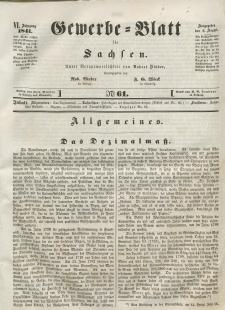 Gewerbe-Blatt für Sachsen. Jahrg. VI, 6. August, nr 61.