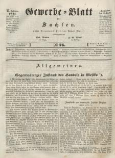 Gewerbe-Blatt für Sachsen. Jahrg. VI, 28. September, nr 76.