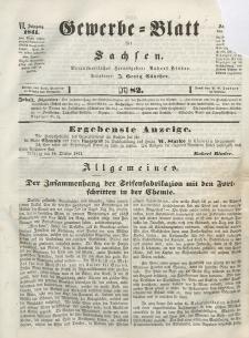 Gewerbe-Blatt für Sachsen. Jahrg. VI, 18. Oktober, nr 82.