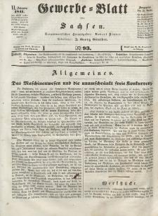 Gewerbe-Blatt für Sachsen. Jahrg. VI, 26. November, nr 93.