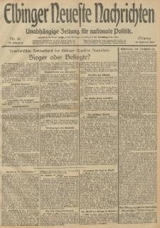 Elbinger Neueste Nachrichten, Nr. 40 Montag 10 Februar 1913 65. Jahrgang