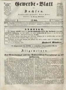 Gewerbe-Blatt für Sachsen. Jahrg. VI, 3. Dezember, nr 95.