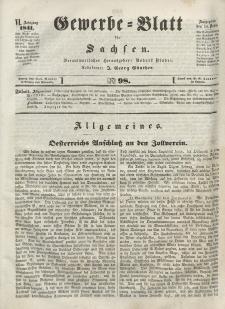 Gewerbe-Blatt für Sachsen. Jahrg. VI, 14. Dezember, nr 98.