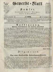 Gewerbe-Blatt für Sachsen. Jahrg. VI, 28. Dezember, nr 102.