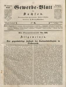 Gewerbe-Blatt für Sachsen. Jahrg. VII, 21. Januar, nr 6.
