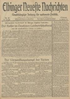 Elbinger Neueste Nachrichten, Nr. 42 Mittwoch 12 Februar 1913 65. Jahrgang