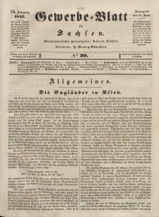Gewerbe-Blatt für Sachsen. Jahrg. VII, 15. April, nr 30.