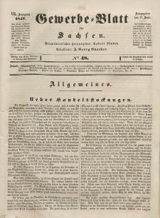 Gewerbe-Blatt für Sachsen. Jahrg. VII, 17. Juni, nr 48.