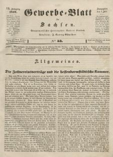 Gewerbe-Blatt für Sachsen. Jahrg. VII, 5. Juli, nr 53.