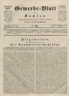 Gewerbe-Blatt für Sachsen. Jahrg. VII, 19. Juli, nr 57.