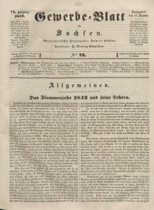 Gewerbe-Blatt für Sachsen. Jahrg. VII, 13. September, nr 73.