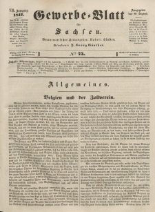 Gewerbe-Blatt für Sachsen. Jahrg. VII, 20. September, nr 75.