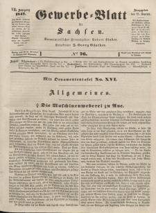Gewerbe-Blatt für Sachsen. Jahrg. VII, 23. September, nr 76.