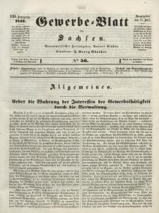 Gewerbe-Blatt für Sachsen. Jahrg. VIII, 14. Juli, nr 56.