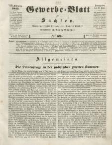 Gewerbe-Blatt für Sachsen. Jahrg. VIII, 25. Juli, nr 59.