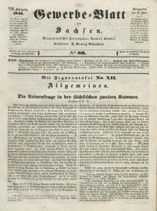 Gewerbe-Blatt für Sachsen. Jahrg. VIII, 28. Juli, nr 60.