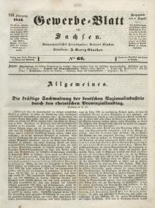 Gewerbe-Blatt für Sachsen. Jahrg. VIII, 4. August, nr 62.