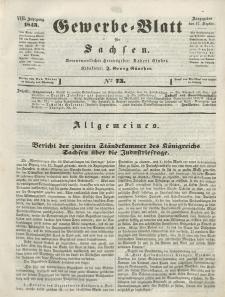 Gewerbe-Blatt für Sachsen. Jahrg. VIII, 12. September, nr 73.