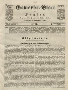 Gewerbe-Blatt für Sachsen. Jahrg. VIII, 26. September, nr 77.