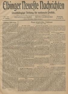 Elbinger Neueste Nachrichten, Nr. 233 Dienstag 26 August 1913 65. Jahrgang