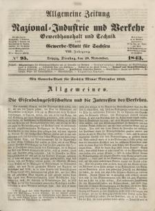 Gewerbe-Blatt für Sachsen. Jahrg. VIII, Dienstag, 28. November, nr 95.