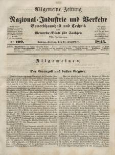 Gewerbe-Blatt für Sachsen. Jahrg. VIII, Freitag, 15. Dezember, nr 100.