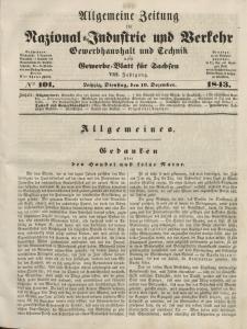 Gewerbe-Blatt für Sachsen. Jahrg. VIII, Dienstag, 19. Dezember, nr 101.