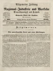 Gewerbe-Blatt für Sachsen. Jahrg. VIII, Freitag, 29. Dezember, nr 104.