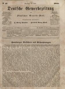 Deutsche Gewerbezeitung und Sächsisches Gewerbeblatt, Jahrg. X. Freitag, 11. Juli, nr 55.