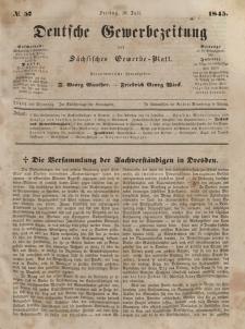 Deutsche Gewerbezeitung und Sächsisches Gewerbeblatt, Jahrg. X. Freitag, 18. Juli, nr 57.