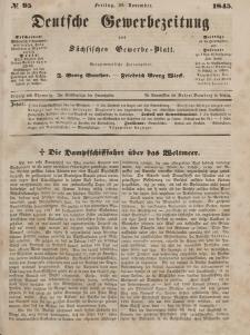 Deutsche Gewerbezeitung und Sächsisches Gewerbeblatt, Jahrg. X. Freitag, 28. November, nr 95.
