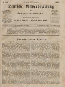 Deutsche Gewerbezeitung und Sächsisches Gewerbeblatt, Jahrg. X. Freitag, 12. Dezember, nr 99.