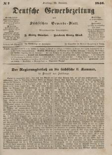 Deutsche Gewerbezeitung und Sächsisches Gewerbeblatt, 1846, Jahrg. XI, nr 7.
