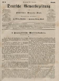Deutsche Gewerbezeitung und Sächsisches Gewerbeblatt, 1846, Jahrg. XI, nr 9.