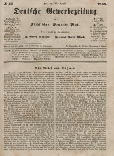 Deutsche Gewerbezeitung und Sächsisches Gewerbeblatt, 1846, Jahrg. XI, nr 33.