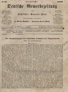Deutsche Gewerbezeitung und Sächsisches Gewerbeblatt, 1846, Jahrg. XI, nr 35.