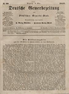 Deutsche Gewerbezeitung und Sächsisches Gewerbeblatt, 1846, Jahrg. XI, nr 42.