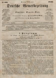 Deutsche Gewerbezeitung und Sächsisches Gewerbeblatt, Jahrg. XI. Dienstag, 15. Dezember, nr 100.