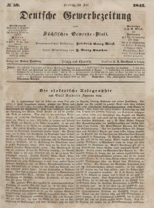 Deutsche Gewerbezeitung und Sächsisches Gewerbeblatt, Jahrg. XII, Freitag, 23. Juli, nr 59.
