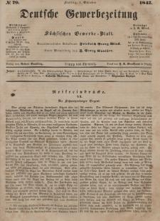 Deutsche Gewerbezeitung und Sächsisches Gewerbeblatt, Jahrg. XII, Freitag, 1. Oktober, nr 79.