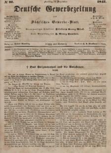 Deutsche Gewerbezeitung und Sächsisches Gewerbeblatt, Jahrg. XII, Freitag, 3. Dezember, nr 97.