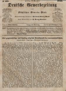 Deutsche Gewerbezeitung und Sächsisches Gewerbeblatt, Jahrg. XII, Freitag, 17. Dezember, nr 101.