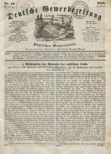 Deutsche Gewerbezeitung und Sächsisches Gewerbeblatt, Jahrg. XIV, Dienstag, 3. Juli, nr 53.